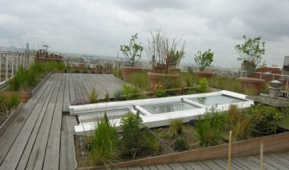 Accès toits terrasses et toitures coulissantes | Toiture Ouvrante ...