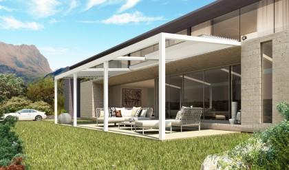 pergolas bioclimatiques toiture ouvrante habitat et v randas. Black Bedroom Furniture Sets. Home Design Ideas