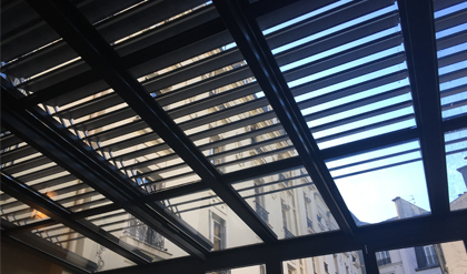 Brise-soleil de toiture